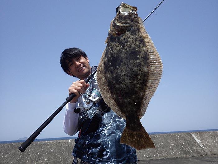 釣りぽ 梶本林宏 ヒラメ 三隅