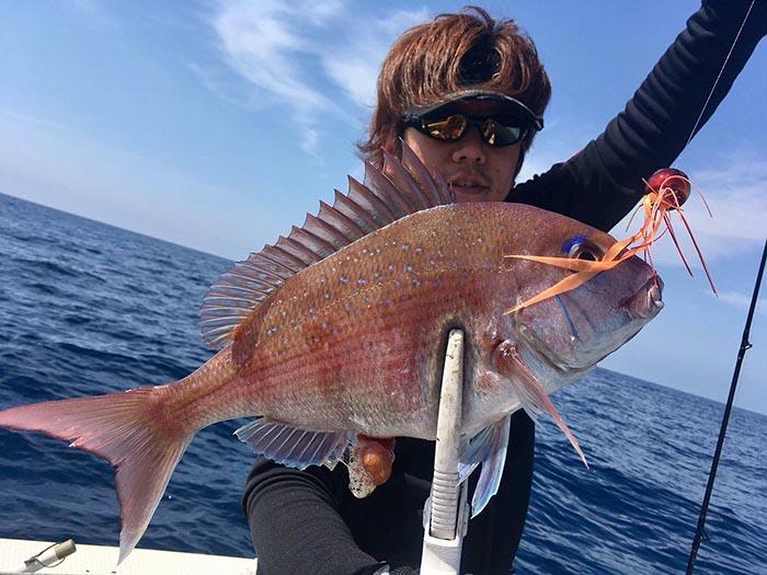 釣りぽ 比嘉 タイラバ1
