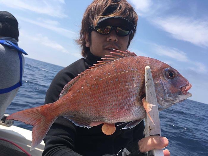 釣りぽ 比嘉 タイラバ2