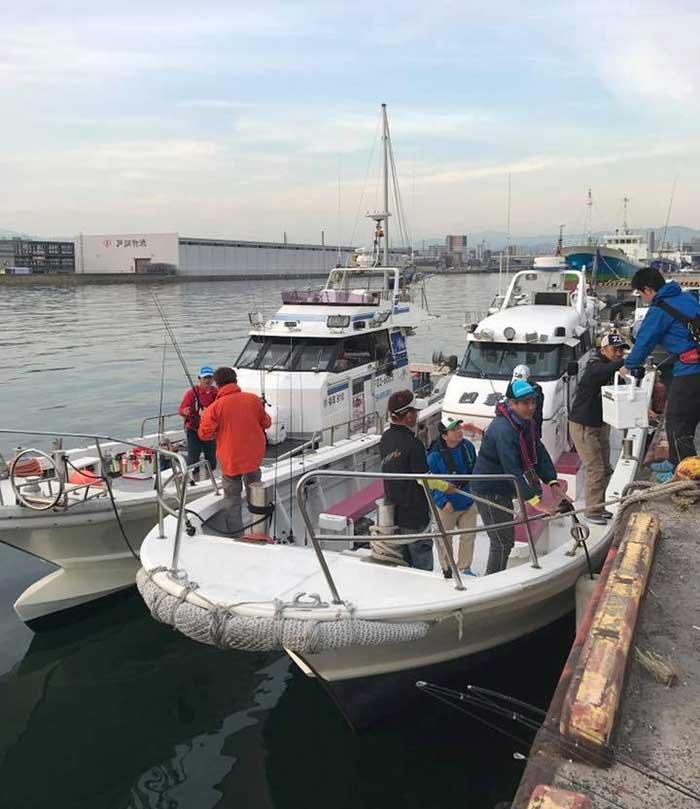 北部九州真鯛トーナメント乗船