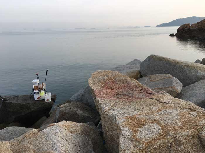 本浦港釣座
