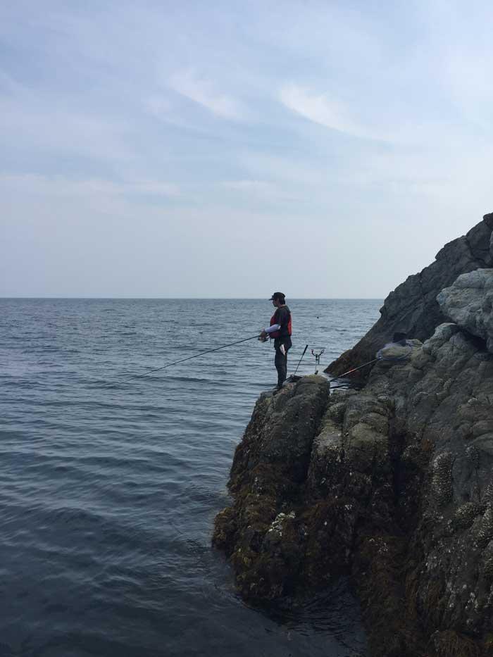 家島諸島小松島釣り場写真