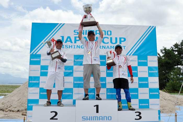 シマノジャパンカップ投 上位入賞者