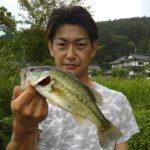 ラバージグでブラックバス/三川ダム(広島県世羅町)