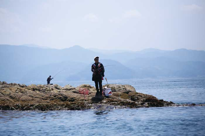 宿毛湾でチヌ釣る