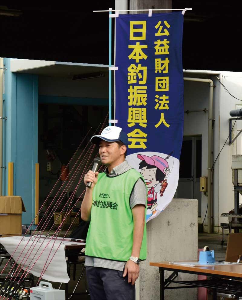 大会実行委員長の吉田さん
