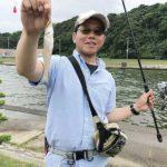 小河川の河口で楽しむキス釣り/下府川河口(島根県浜田市)