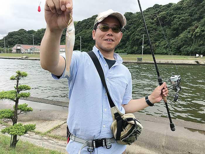 下府川 キス 石橋