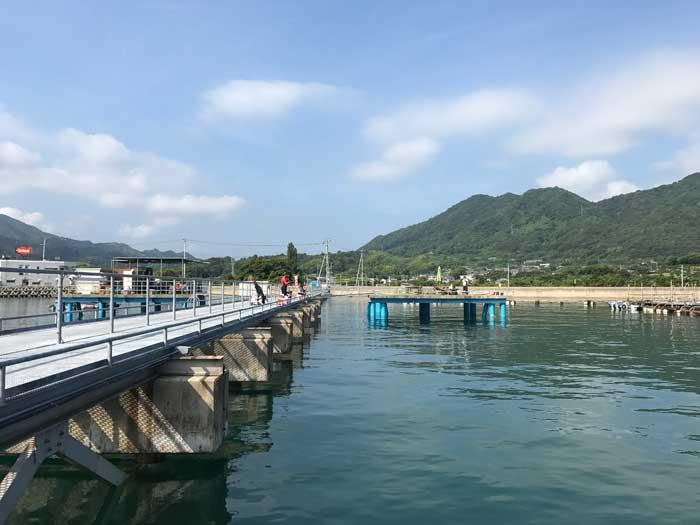 フィッシングパーク大三島 全景