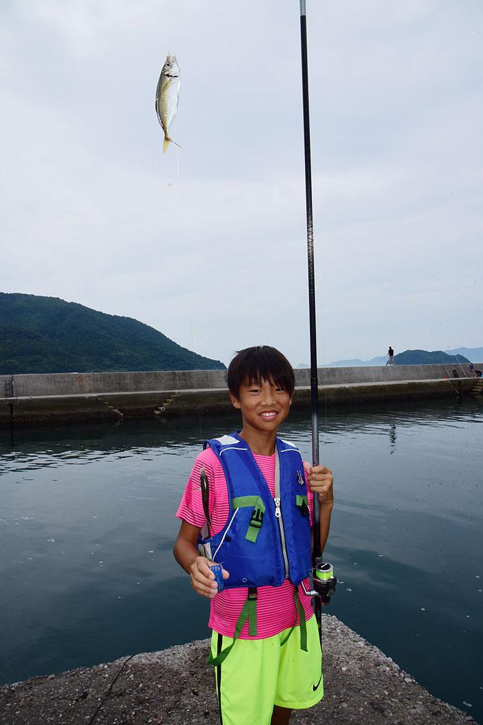 周防大島 アジサビキ釣り