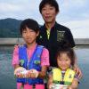 親子で楽しむサビキの小アジ釣り/外入港(山口県周防大島)