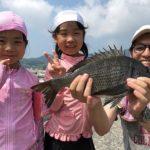 フカセ釣りで良型チヌをキャッチ/竹ノ浦港(山口県上関町)