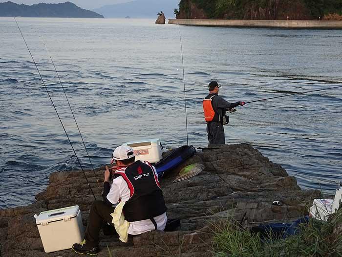 二神島 釣り場