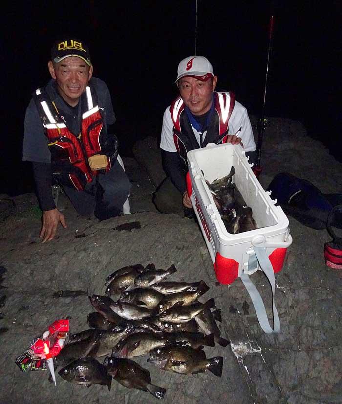 メバル 二神島 釣り人