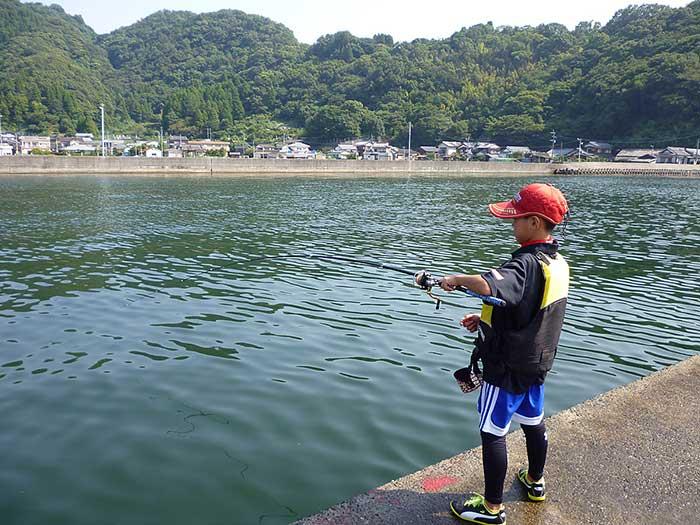 釣り中 大入島 チヌ