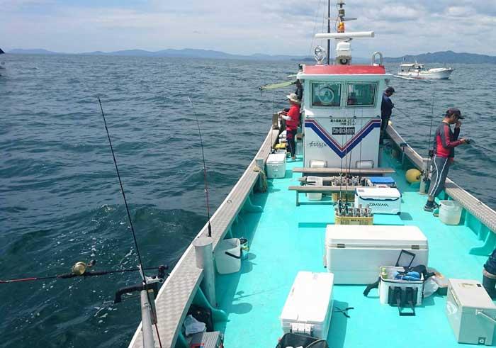 せとうちフィッシング 遊漁船 タチウオ
