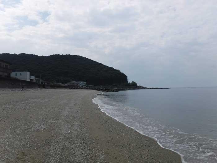 大志生木海水浴場 佐賀関