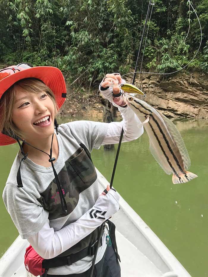 秋丸美帆 マレーシア ミニトーマン