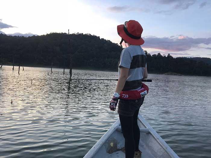秋丸美帆 マレーシア