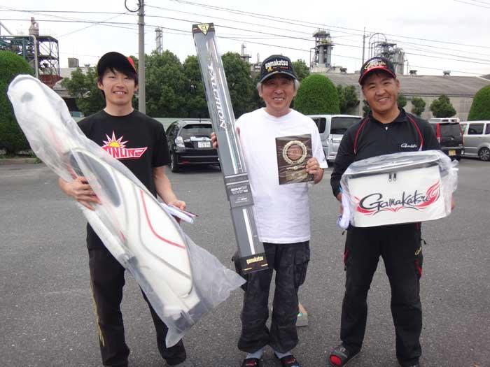 上位入賞 GFG広島支部 懇親グレ釣り大会