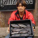 波止フカセ釣りでグレ7匹/海崎港(島根県松江市美保関)