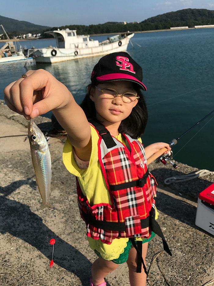 五目釣り 新町漁港 キス