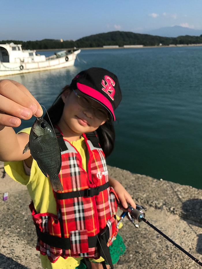 五目釣り 新町漁港 グレ
