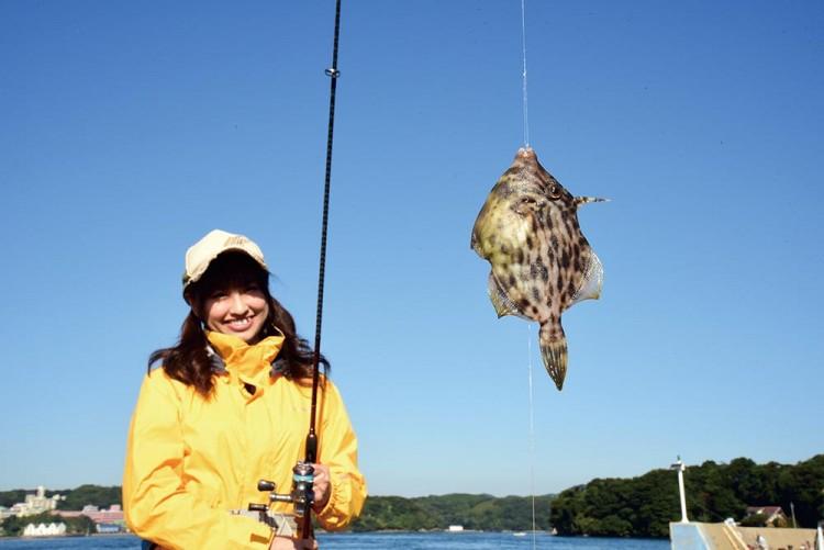 カワハギ釣り 岸 波止