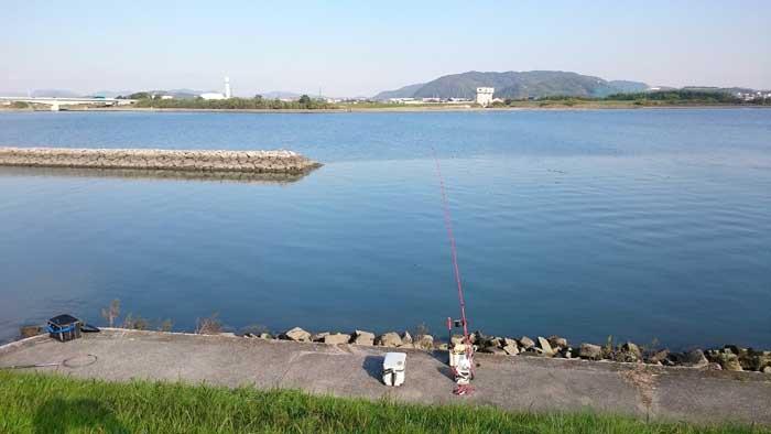 吉井川 チヌ釣り ポイント