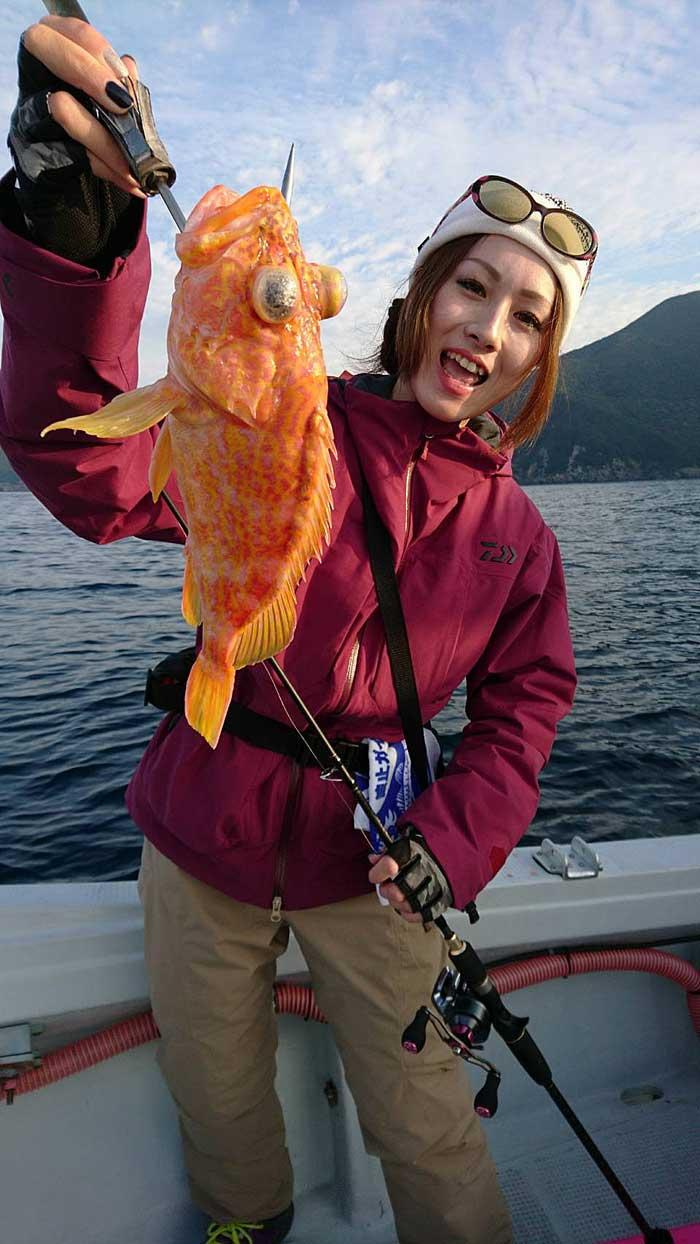 ヒメカサゴ YUKI タイラバ