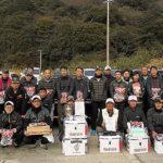 釣研FG長崎県南支部 クロ釣り大会