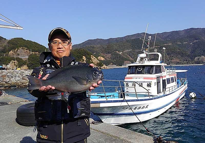 釣果と古川渡船