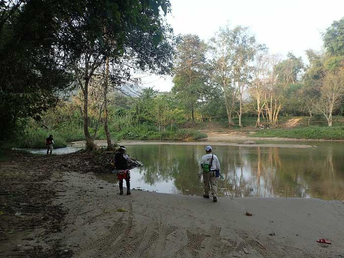 タイ カンチャナブリ クウェー川 ポイント