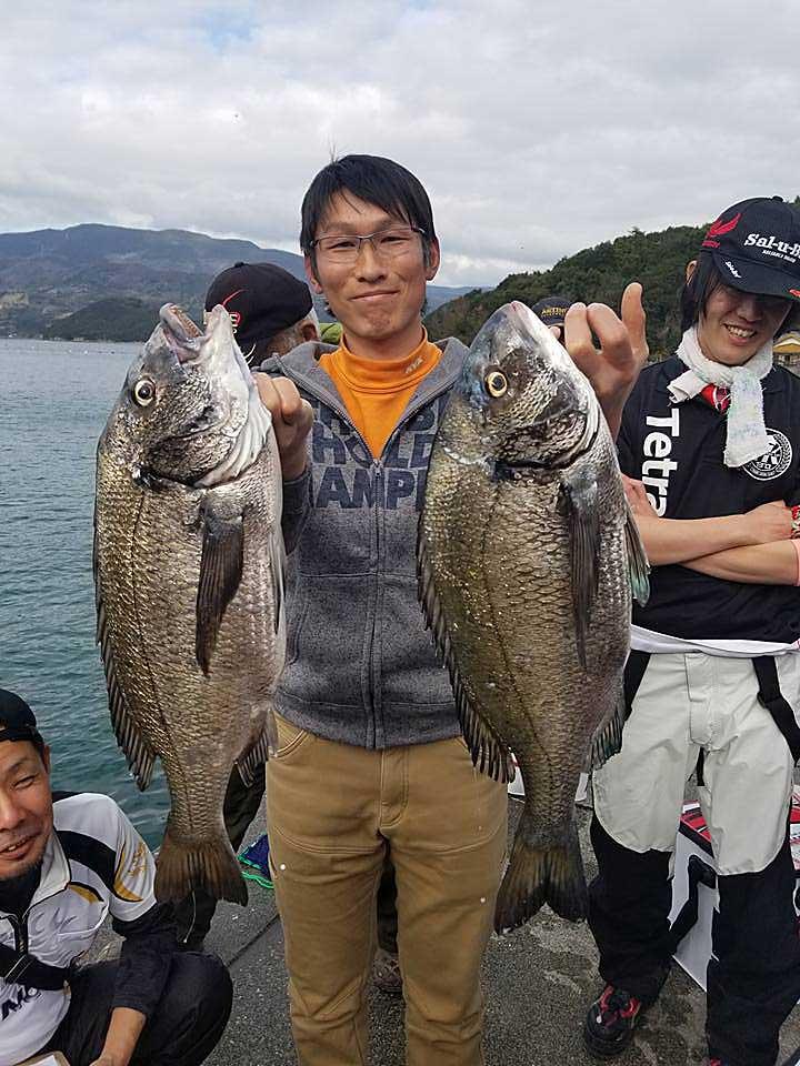 御荘湾巨チヌ選手権 50cmオーバー