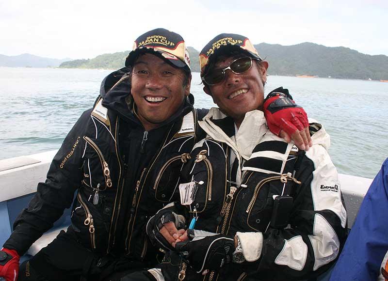 ジャパンカップクロダイ 大知船上