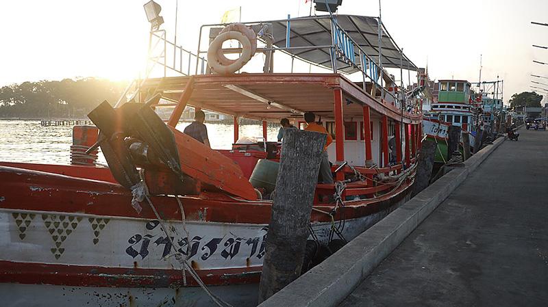 バンサレー 遊漁船