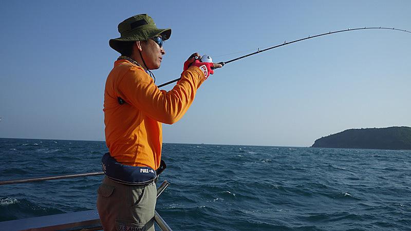 タイランド湾 釣り人2