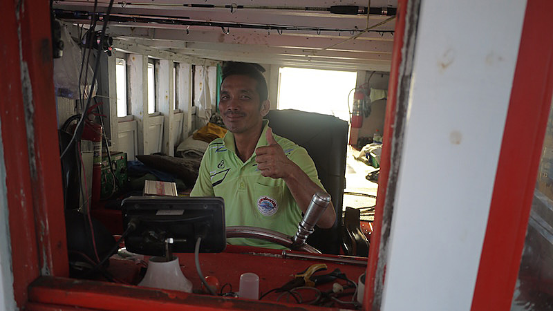 タイランド 釣船 船長
