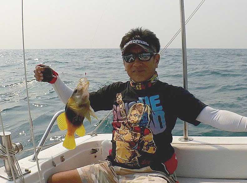 キハッソク タイランド 釣り