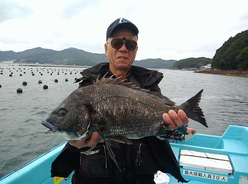 大型チヌ 笹川さん