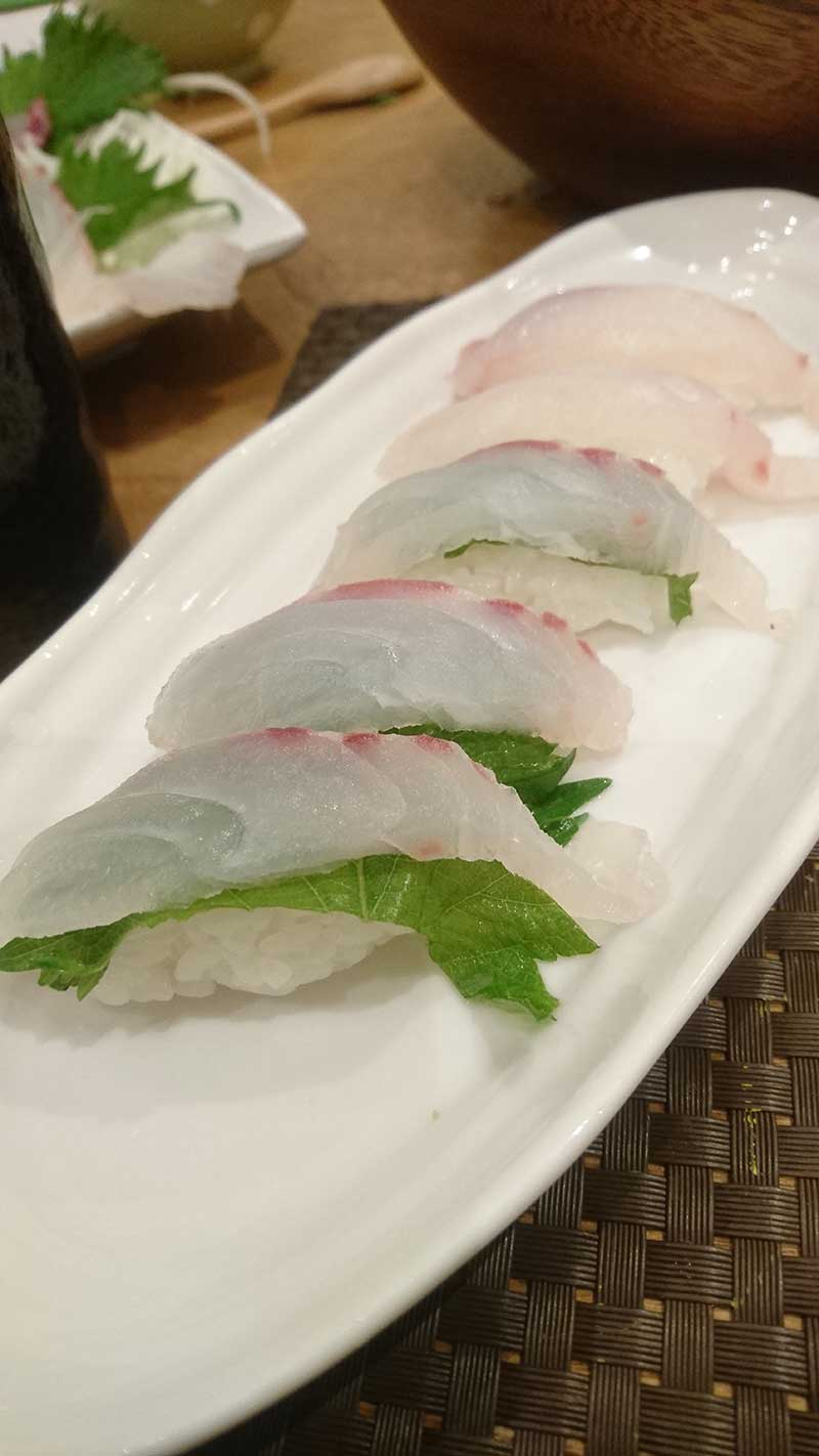 真鯛 寿司