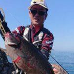 フカセ釣りで58cmの大型グレヒット!/鵜来島(宿毛市)