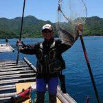 筏からのチヌフカセ釣り/大黒神島北向きの沖牡蠣筏(江田島市)