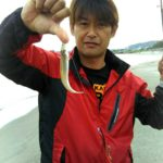 ちょい投げでキス/淀江海岸(米子市)