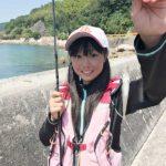ルアータックルでちょい投げ釣り/竹の浦港(上関町)