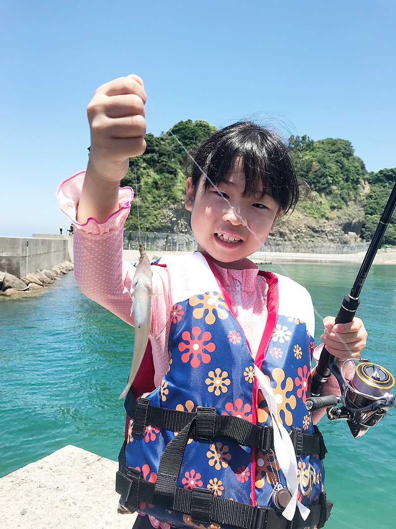 ちょい投げ キス 浜田市