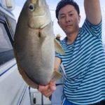 大分沖で五目イサキ釣りで良型キャッチ/豊後水道(大分市)