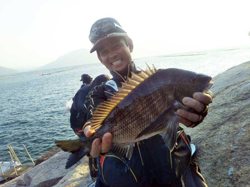広島チヌ釣りトーナメント優勝