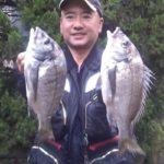 渚フカセでチヌの数釣り堪能/相浦のサーフ(柳井市)