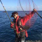 足摺岬でグレのフカセ釣り/伊佐 大バエ(高知県土佐清水市)